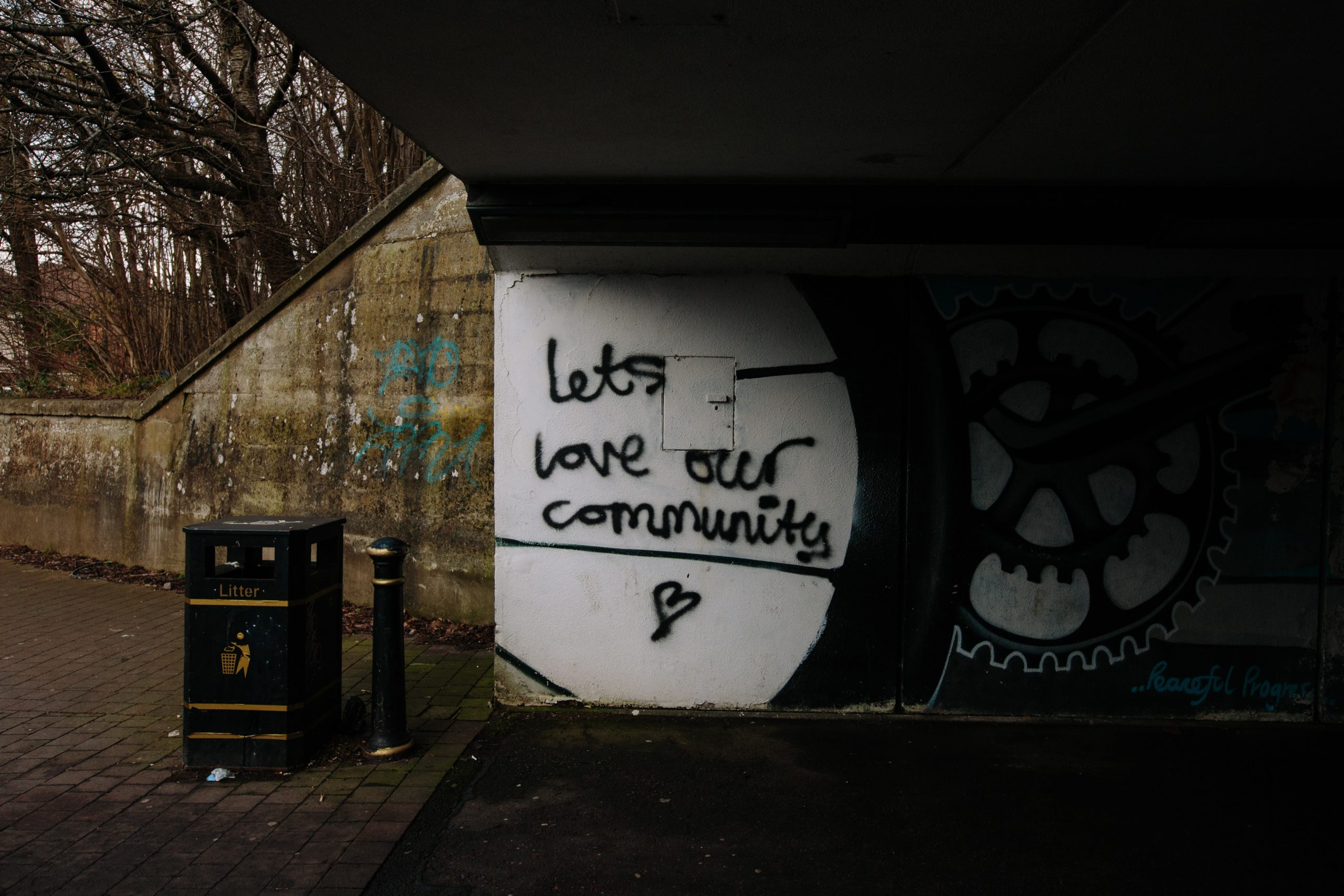 community together mural
