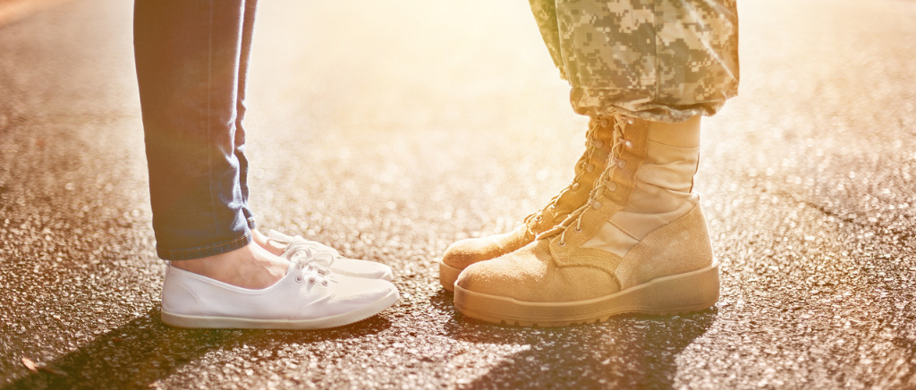 military spouse shoes and active duty boots
