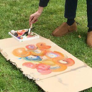 cardboard canvas