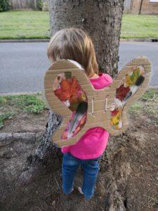 cardboard wings