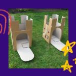 10 Cardboard Box Crafts and Recycling Activities For Kids