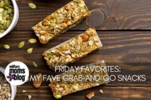 Friday Favorites snacks