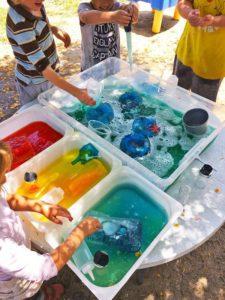 sensory bins for summer activities for kids