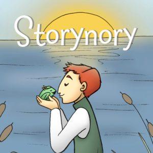 story nory podcast logo