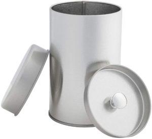 airtight tin container
