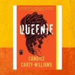 Queenie book on orange and yellow background