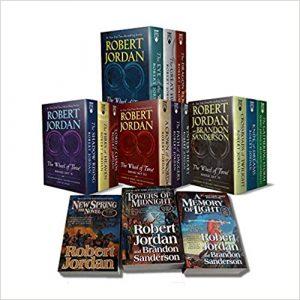 Robert Jordan fantasy series