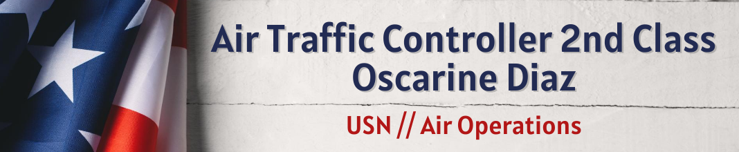 Air Traffic Controller 2nd Class Oscarine Diaz, USN, Air Operations
