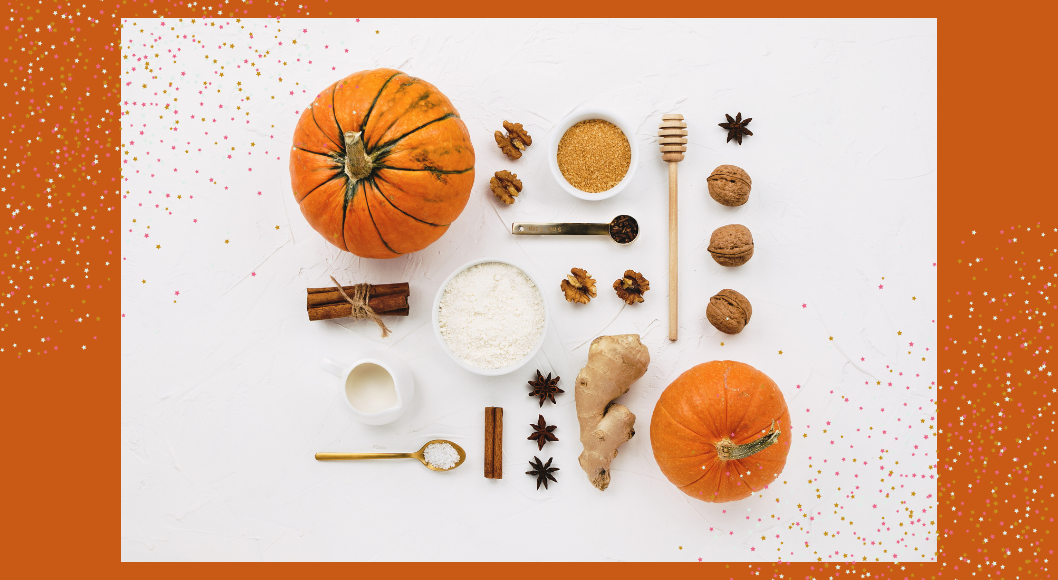pumpkin and spices