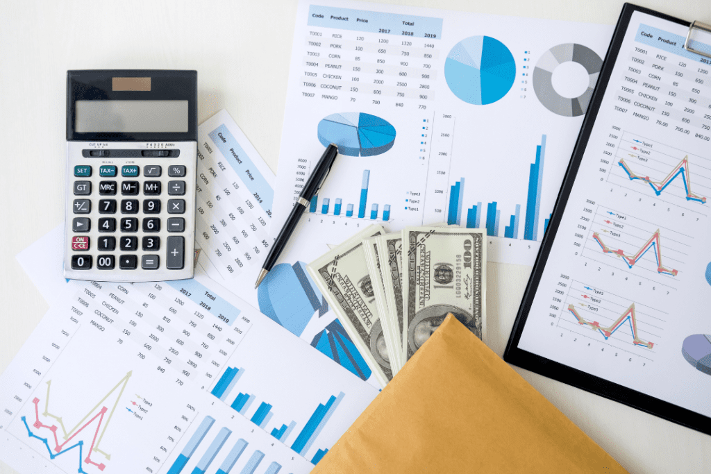 calculator papers money for refinance