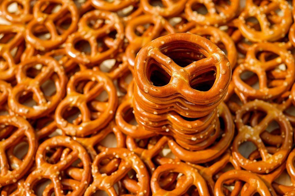pretzels as snack