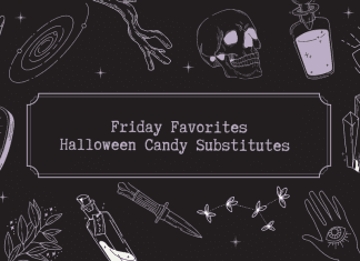 Friday Favorites Halloween Candy Substitutes