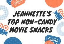 non-candy movie snacks