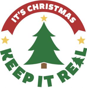 It's Christmas Keep It Real logo