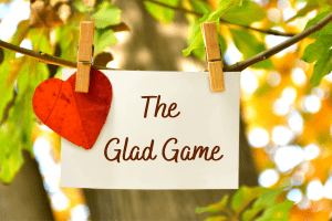 the glad game heart