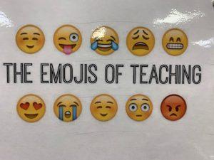 the emojis of teaching