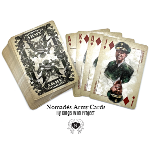 Nomades Army Playing Cards
