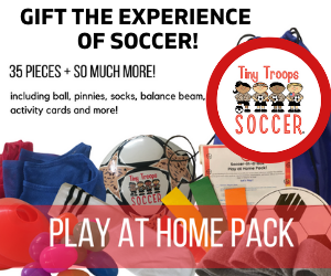 Play at Home Soccer Pack with Tiny Troops Soccer