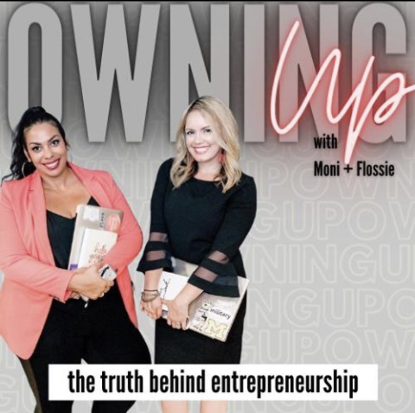 Owning Up! podcast graphic