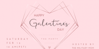 Happy Galentine's Day - The Party. Feb 13th at 10am PST
