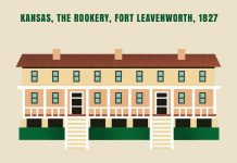 Graphic of The Rookery, Fort Leavenworth
