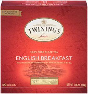 twining's english breakfast tea
