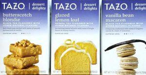 Tazo dessert teas