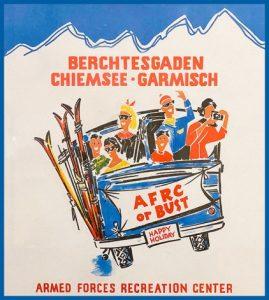 Vintage poster of Berchtesgaden