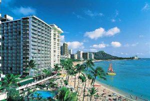 Hale Koa resort in Waikiki