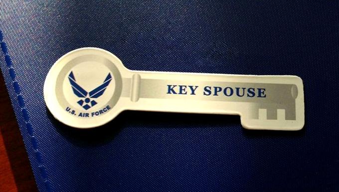 Key Spouse pin
