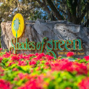 Shade of Green resort sign