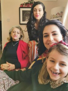 3 generations of female family together