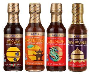 various asian good sauces