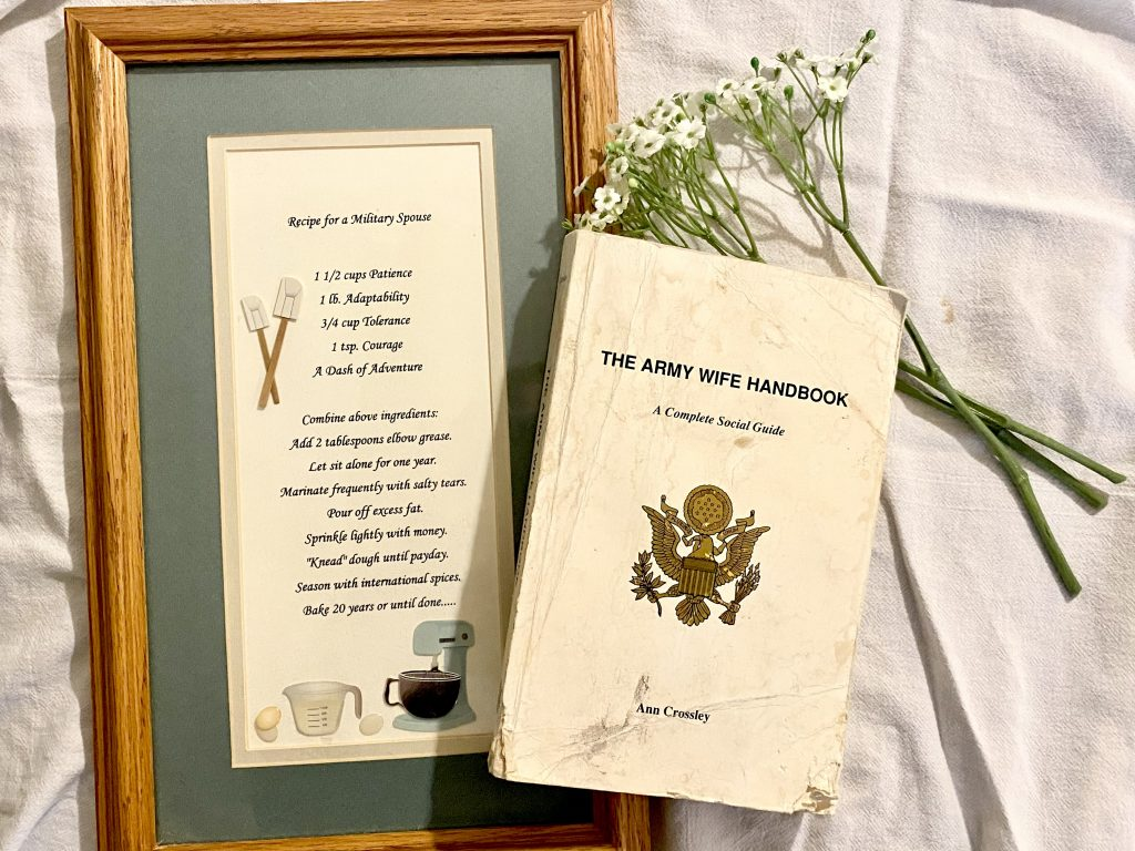 Recipe for a Military Spouse and the Military Spouse Handbook