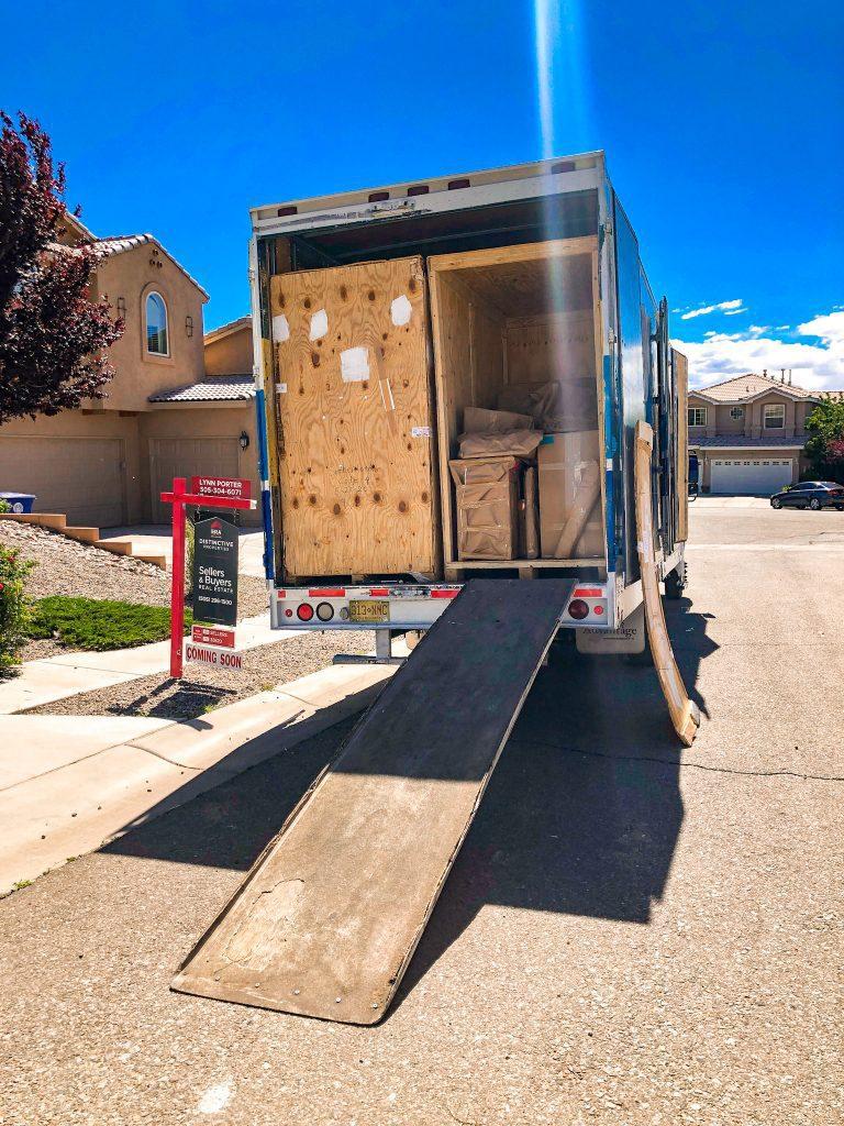 PCS season, moving truck