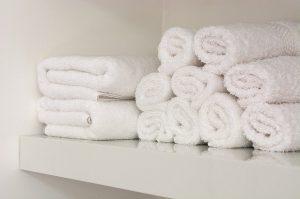 hotel room towels