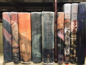 collection of Harry Potter books