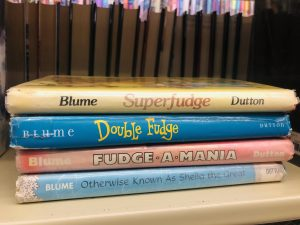 collection of Judy Blume's Fudge books