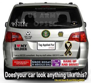 OPSEC Nightmare on your minivan