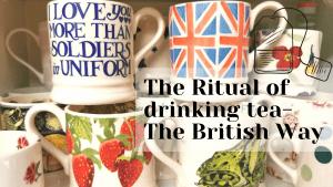 The ritual of drinking tea