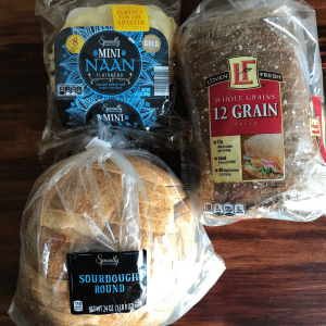 various bread products from Aldi