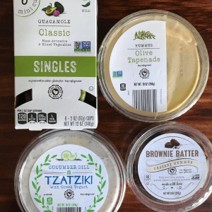 various dips from Aldi