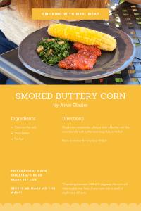 SMoked Buttery Corn Recipe Card