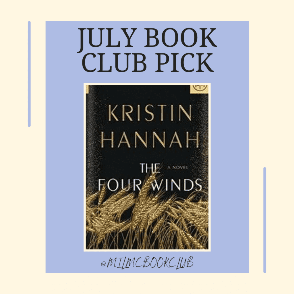 July Book Club pick with The Four Inds