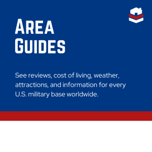 Area Guides - See reviews, cost of living, weather, attractions, and information for every U.S. military base worldwide.