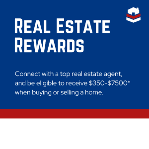 Real Estate Rewards - Connect with a top rela estate agent, and be eligible to recieve $350-$7500 when buying or selling a home.