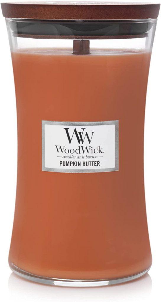 Woodwick Pumpkin Butter candle