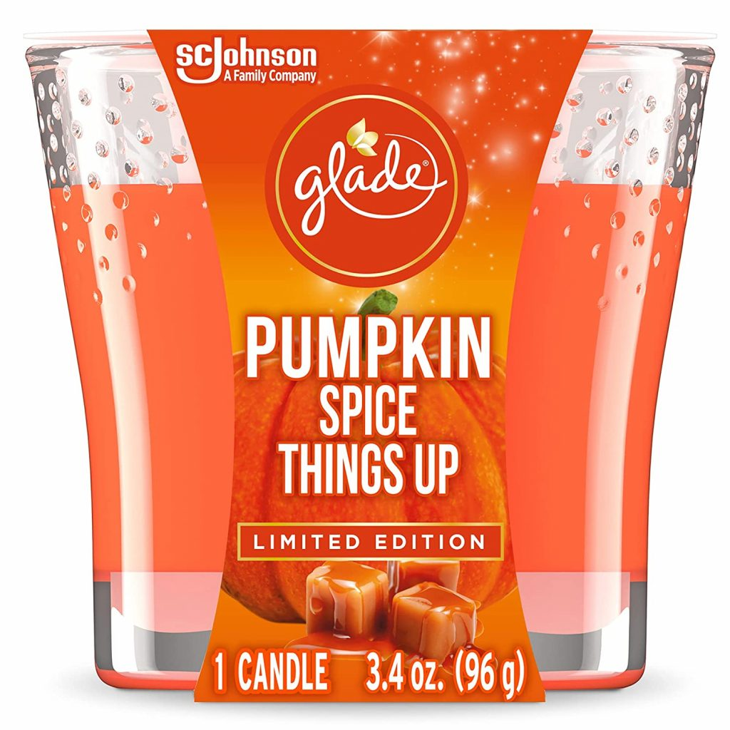Pumpkin Spice Things Up candle by Glade