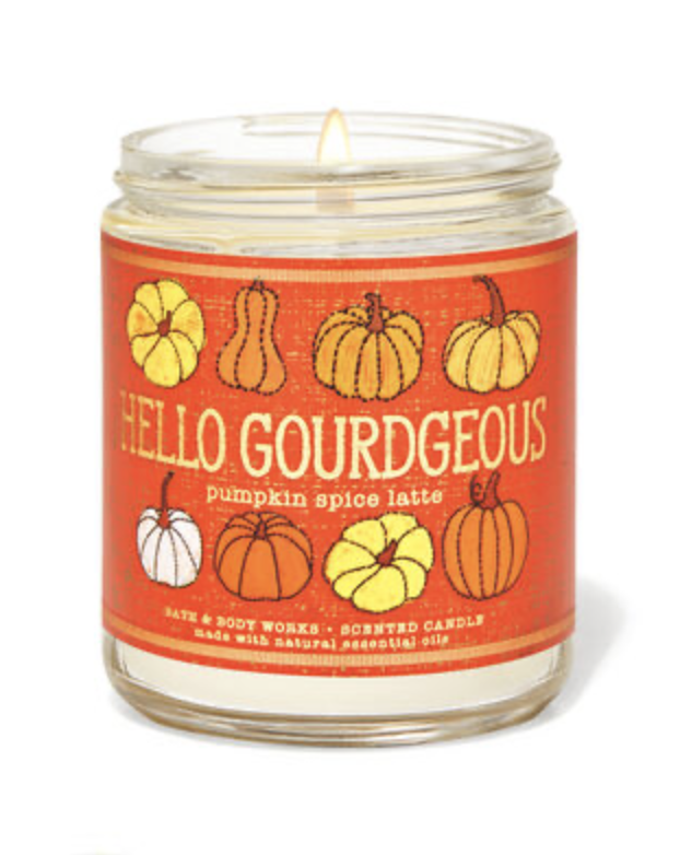 Hello Gorgeous candle
