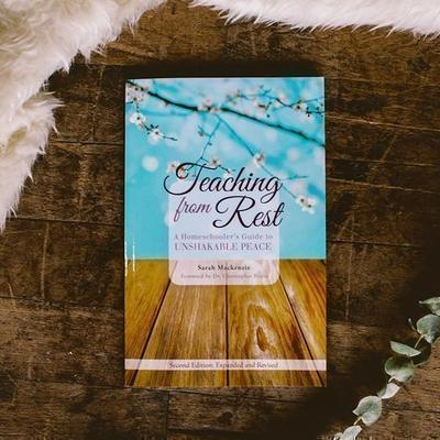 book titled Teaching from Rest